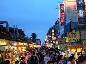 Endless crowds find their way through the Luodong Night Market, in the search for a snack, a bargain, and some fun!